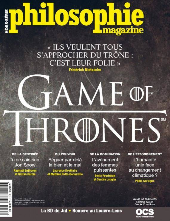 Philosophie Magazine - Hors Série n°41, avril 2019 - Game Of Thrones