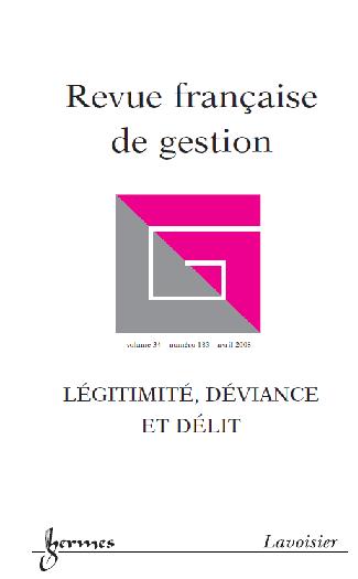 Revue française de gestion, ,n°183, Gouvernance et management stratégique