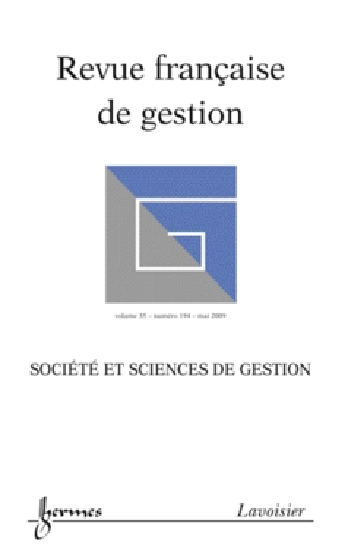 Revue française de gestion, n° 194, Société et sciences de gestion