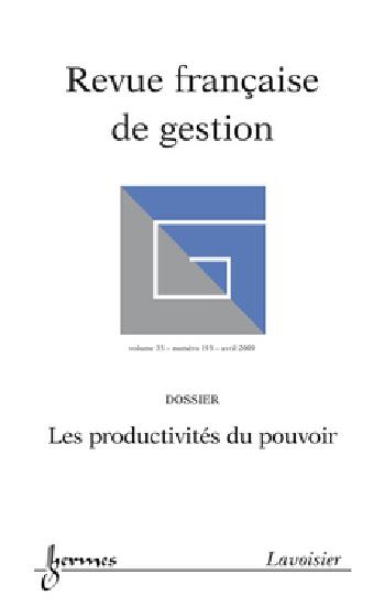 Revue Française de Gestion, n°193, Stratégie en temps de crise