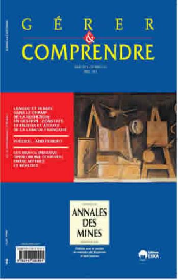 Gérer et comprendre, n°115, Langue et pensée dans le champ de la recherche en gestion : constats et enjeux et atouts de la langue française
